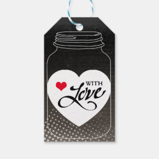 For you with love. pack of gift tags