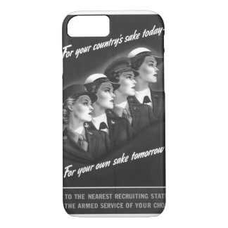 For your country's sake today_War image iPhone 7 Case