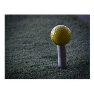 For your favorite Golfer Postcard