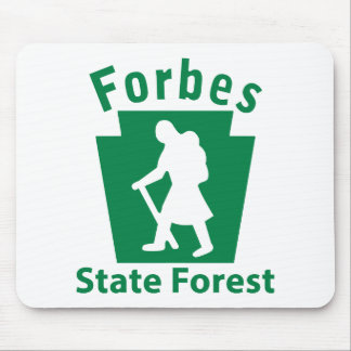 Forbes SF Hike (female) Mouse Pad