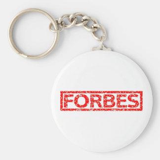 Forbes Stamp Keychain