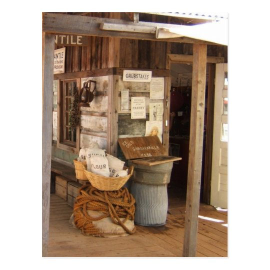 Forbestown Museum Postcard