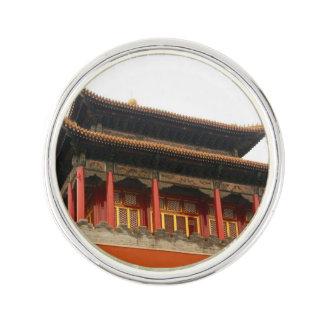 Forbidden City Building Lapel Pin