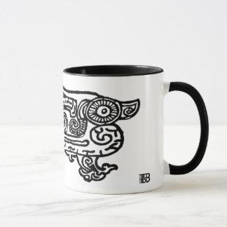 Forbidden City Dragon 11oz combo mug