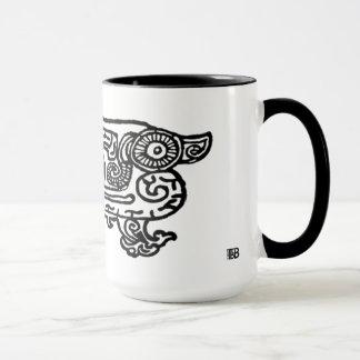 Forbidden City Dragon 15oz combo mug