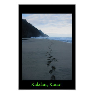 Forbidden Footsteps in Kalalau Poster