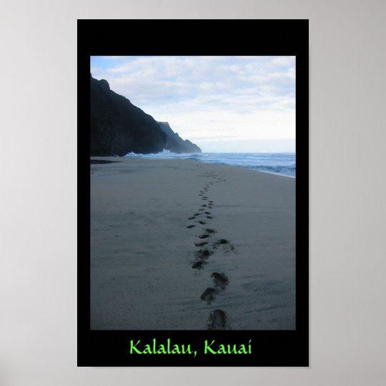 Forbidden Footsteps in Kalalau Poster