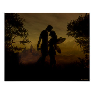 Forbidden Love Canvas Print by Julie Fain