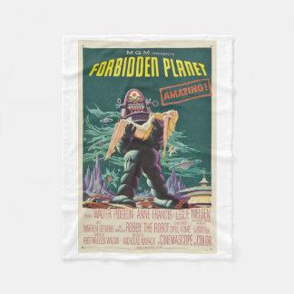 Forbidden Planet Monster Movie Blanket
