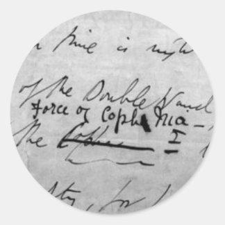 Force of Coph Nia Seals Round Sticker