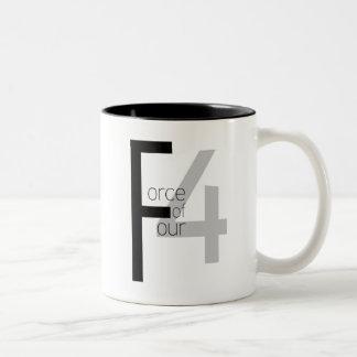 Force of Four mug