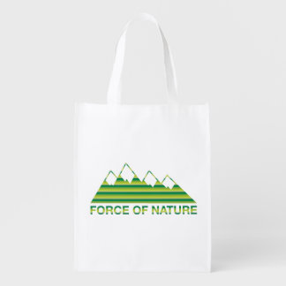 Force Of Nature Market Totes