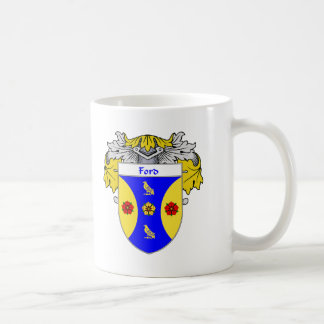 Ford Coat of Arms (Mantled) Coffee Mug