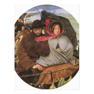 Ford Madox Brown- The Last of England Postcard