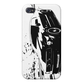 Ford Mustang GT Coupe Case For iPhone 4