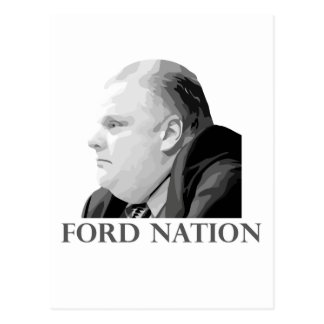 Ford Nation Postcard