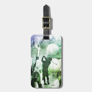 Fore! Mens golf Luggage Tag