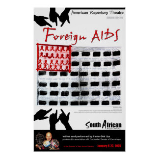 FOREIGN AIDS  POSTER