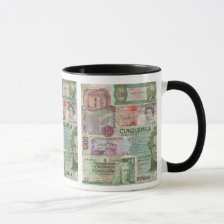 foreign currency mug