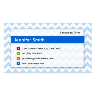 Spanish Teacher Business Cards 184 Business Card Templates