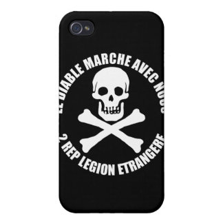 Foreign Legion 2 REP Skull iPhone Case Cases For iPhone 4