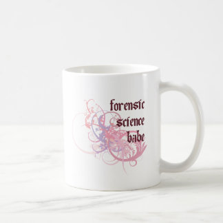 Forensic Science Babe Coffee Mug