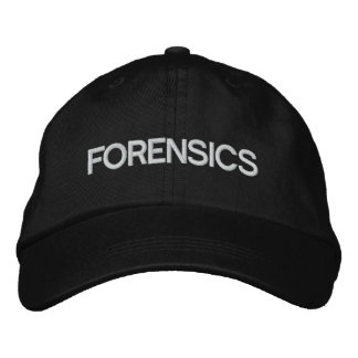 Forensics Hat Embroidered Hat