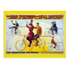 Forepaugh & Sells Brothers Vintage Circus Poster Postcard