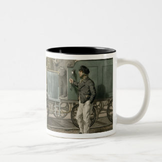 Fore's Contrasts: The Driver of 1832, The Driver o Two-Tone Coffee Mug