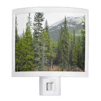 Forest and Mountain Scene Night Light