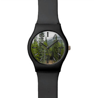 Forest and Mountain Scene Watch