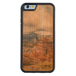 Forest and Snowy Mountains, Patagonia, Argentina Carved Cherry iPhone 6 Bumper Case