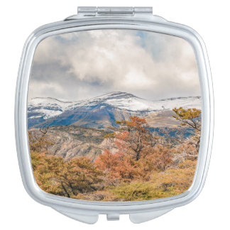 Forest and Snowy Mountains, Patagonia, Argentina Makeup Mirrors