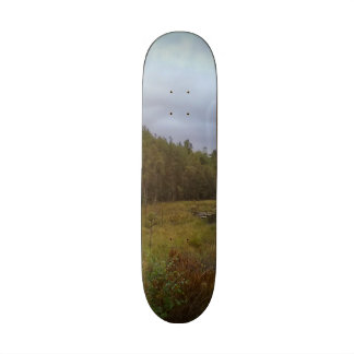 forest and tree skate deck