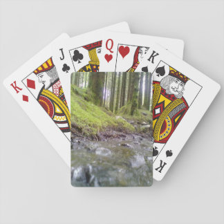 Forest and water playing cards