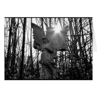 Forest Angel Greeting Card - Blank