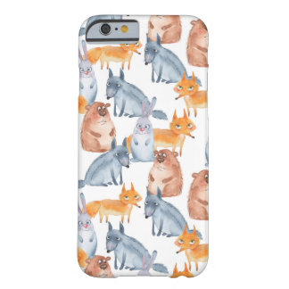 Forest animals. Watercolor Barely There iPhone 6 Case