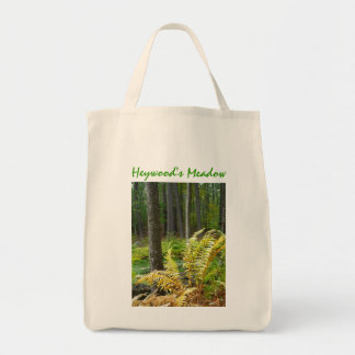 Forest art tote bag