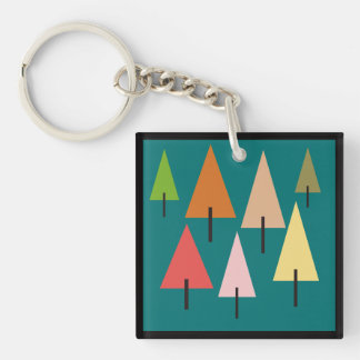 Forest Artistic Impression Keychain