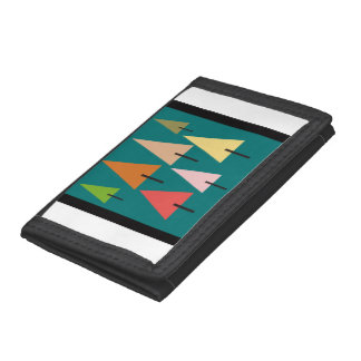 Forest Artistic Impression Trifold Wallet