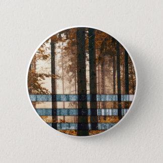 Forest autumn & winter 2 inch round button