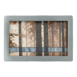 Forest autumn & winter belt buckles