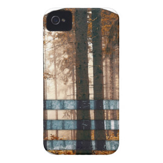 Forest autumn & winter iPhone 4 case