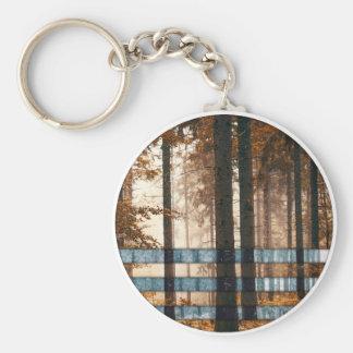 Forest autumn & winter keychain