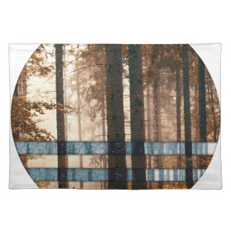 Forest autumn & winter placemat