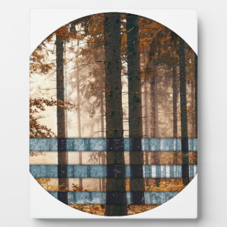 Forest autumn & winter plaque