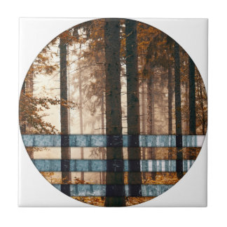 Forest autumn & winter tile