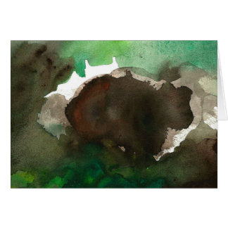 Forest Beat Blank Greeting Card