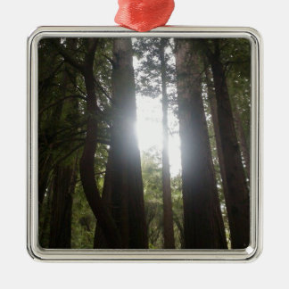 Forest Beauty Metal Ornament