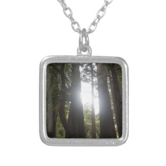 Forest Beauty Silver Plated Necklace